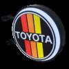 Toyota 12v LED Retro Bar Mancave Light Sign