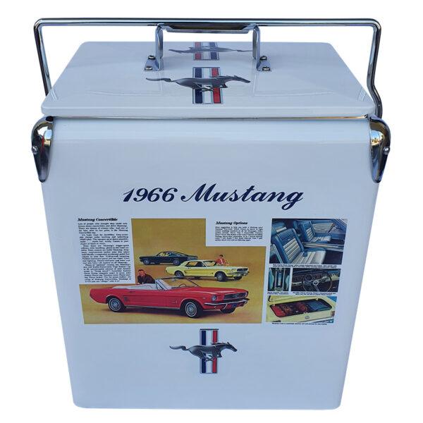 66 Mustang Retro Esky - 17lt Retro Cooler - Front