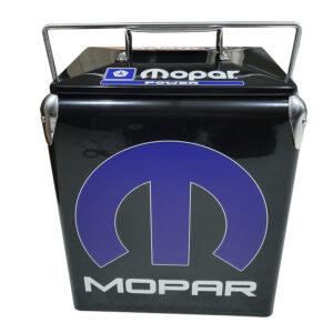 MoPar Black Retro Esky – 17lt Retro Cooler