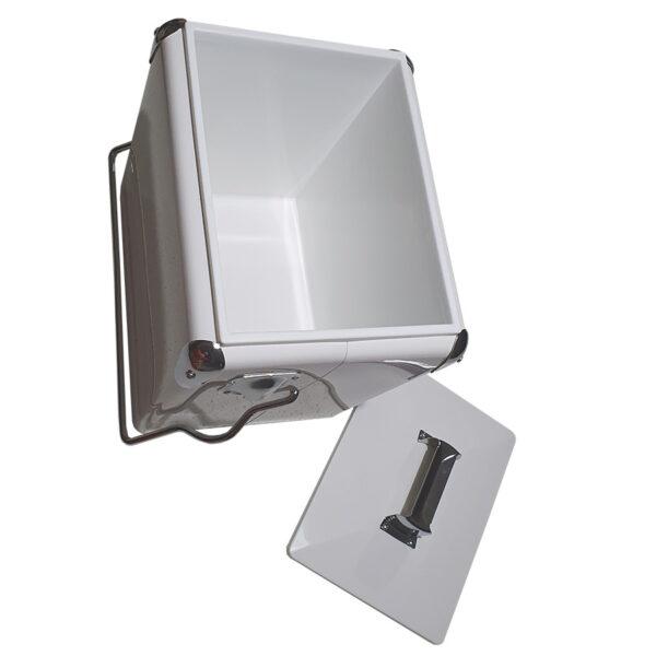 Retro Esky 13lt Retro Cooler - White - Interior