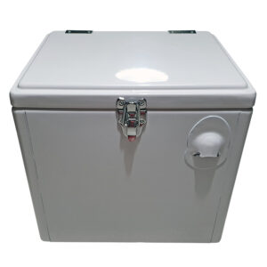 15lt Retro Esky Cooler – Chest Style – Plain White