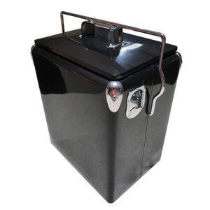 17lt Retro Esky Cooler – Retro Cooler Style – Plain Black