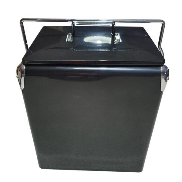 Retro Esky 17lt Retro Cooler - Black - Front
