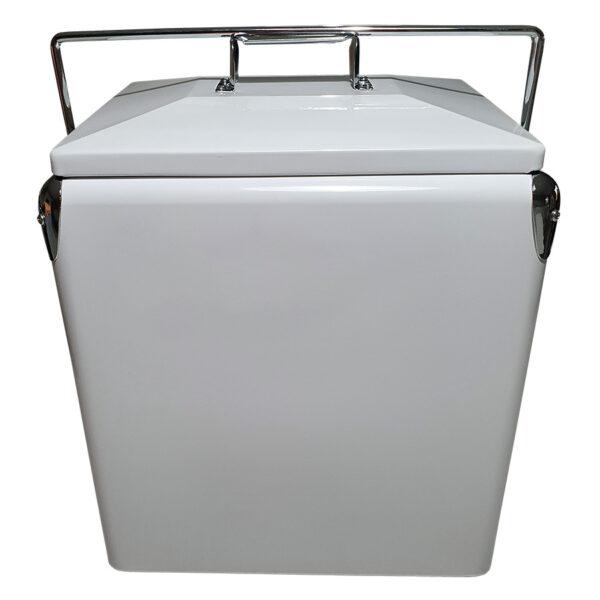Retro Esky 28lt Retro Cooler - White - Front