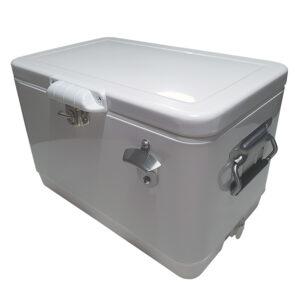 30lt Retro Esky Cooler – Chest Style – Plain White