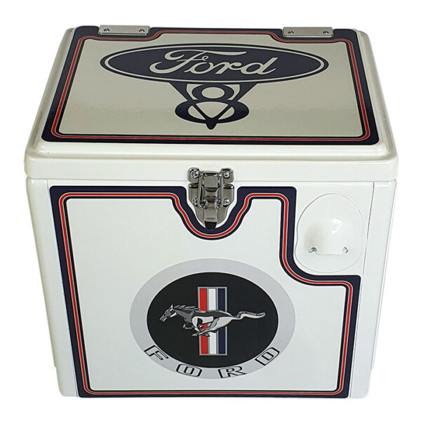 15lt Ford Mustang Retro Chest Esky - View 1