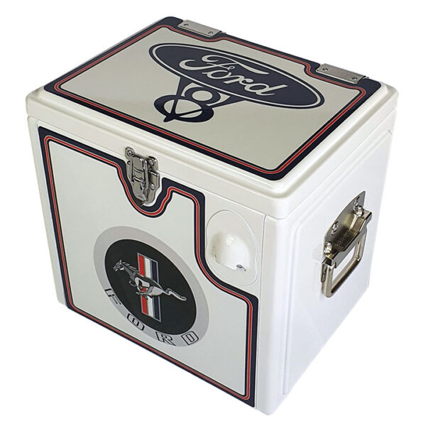 15lt Ford Mustang Retro Chest Esky - View 2