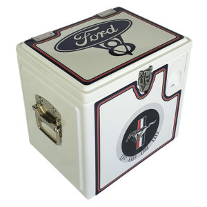 15lt Retro Esky Cooler – Chest Style – Ford Mustang