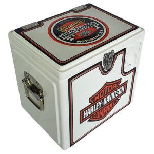 15lt Retro Esky Cooler – Chest Style – Harley Davidson